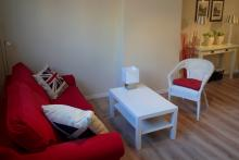 <p>1 bedroom furnished appartement walking distance from EU Parliament, Place Luxembourg, Shuman Area</p>
