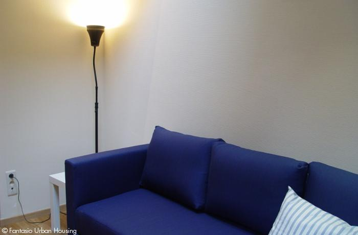 <p>Cosy large furnished studio with seperated bedroom and spacious South terrace close to EU area</p>