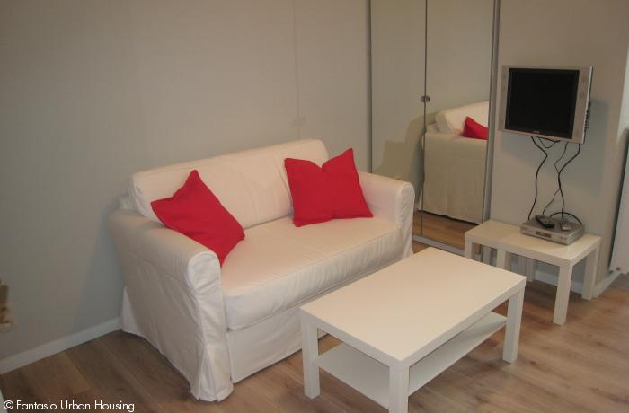 <p>Cosy furnished 1 bedroom Furnished Studio with mezzanine close to Place Luxembourg and EU Parliament</p>
